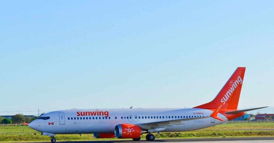 avión de Sunwing