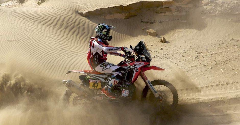 El clima árido y el calor sofocante acompañará a los más de 300 participantes. Dakar/La República