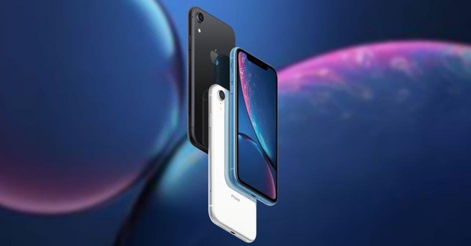 Los dos modelos de la versión XR del iPhone