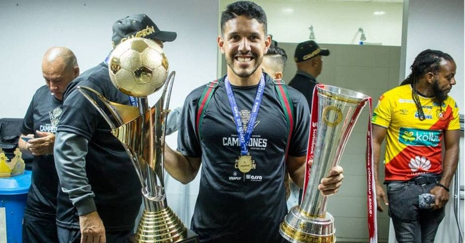 Leonel Moreira, portero campeón, formado en las ligas menores del Team.
