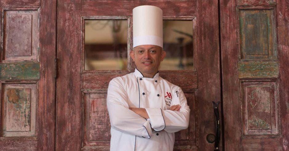 José Prendas, chef ejecutivo de Los Sueños Marriott. Cortesía Marriott/La República