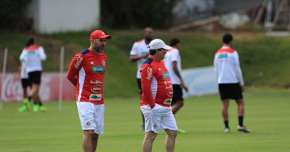 Luis Marín estuvo en dos mundiales como  asistente técnico de la Selección Nacional Foto tomada del Facebook de la Federación Costarricense de Fútbol/La República