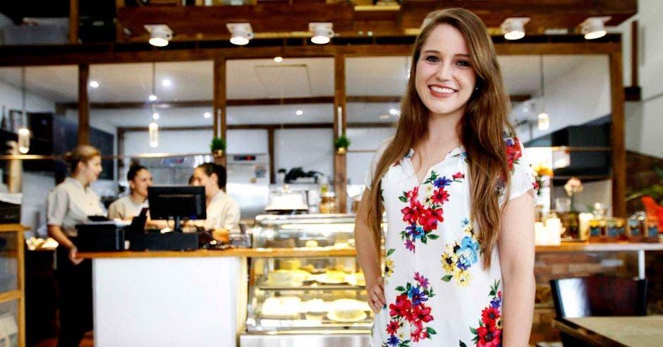 El proyecto es liderado por Sophia Rodríguez, chef y propietaria. Esteban Monge/La República