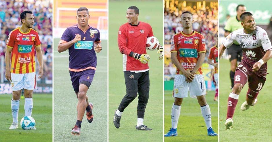 Esteban Alvarado, quien se formó en el Deportivo Saprissa, regresó del fútbol europeo para firmar con la Liga. Liga Deportiva Alajuelense/La República