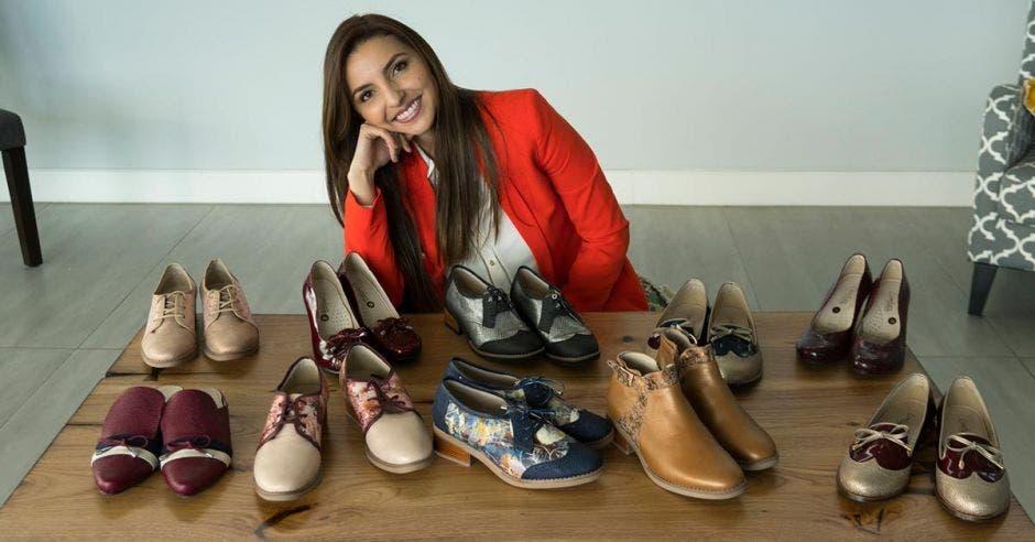 Yahonis Chaves, directora de Diseño y Mercadeo de la marca de calzado Koala.