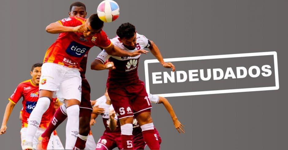 Los 12 clubes de primera división tienen deudas pendientes. Archivo/La República