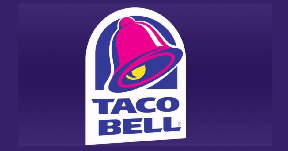 El logo de la campana de Taco Bell