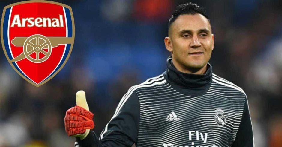 Arsenal le habría ofrecido 16 millones de euros al Arsenal por Keylor Navas, según medios españoles. Archivo/La República