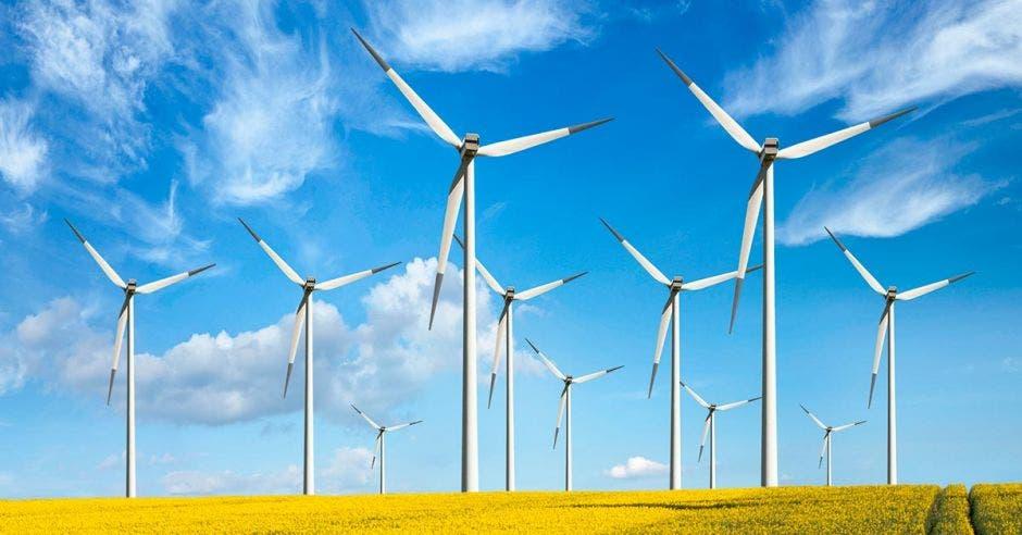 Molinos de viento de acero