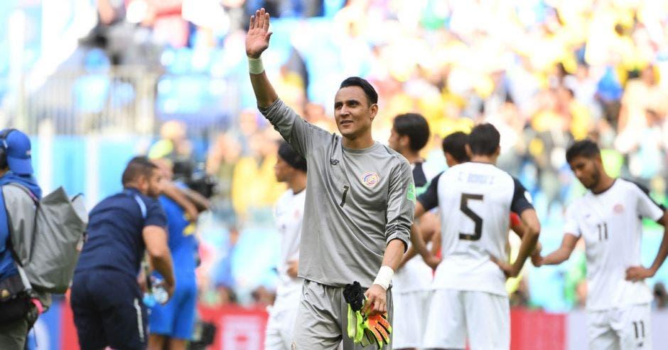 Keylor Navas regresará al banquillo del Real Madrid una vez que Courtois se recupere de la lesión. AFP/La República
