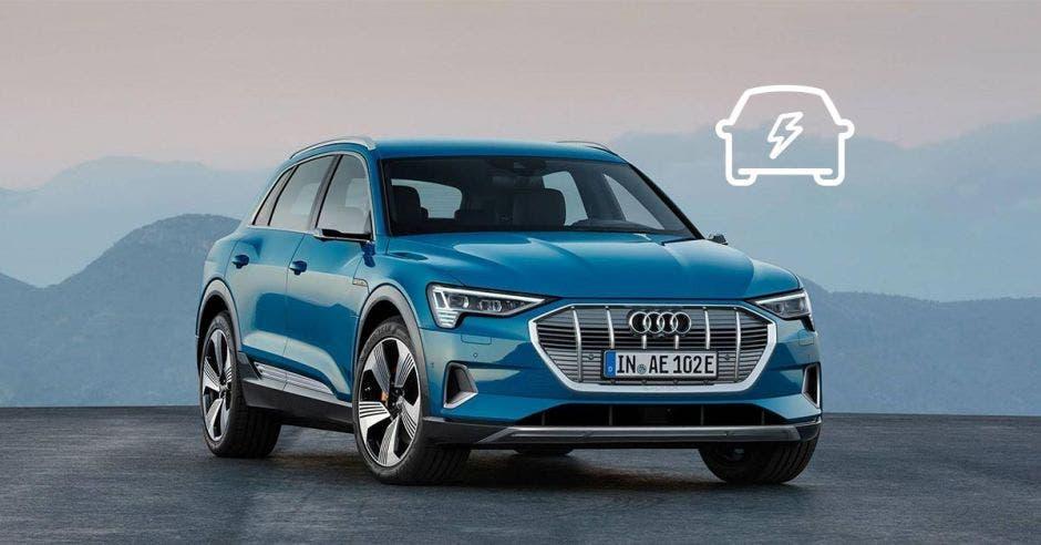 El nuevo modelo tiene una autonomía que sobrepasa los 400 km con una sola carga. Audi/La República