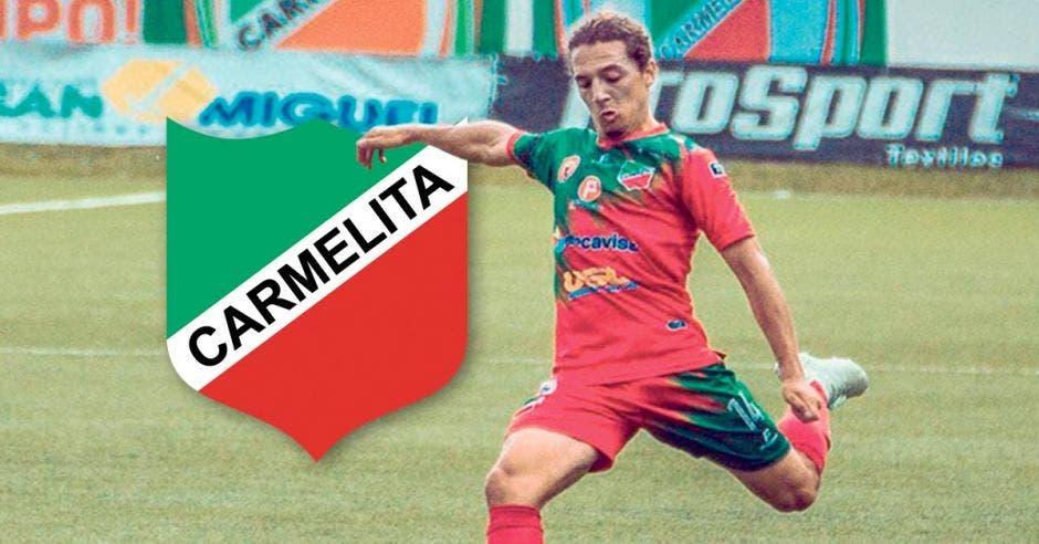 Jorge Gutiérrez, de Carmelita, suma dos golazos en el Clausura.