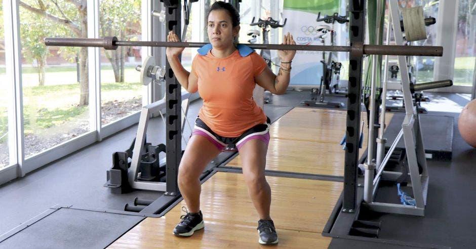 Adriana Villar espera recoger para 2019 muchos títulos y desde ya trabaja en su preparación física.Cortesía CON/La República