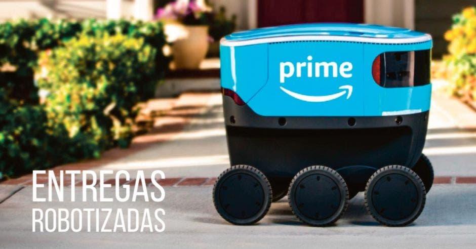 Las primeras pruebas de este robot se realizan desde el 23 de enero. Amazon/La República