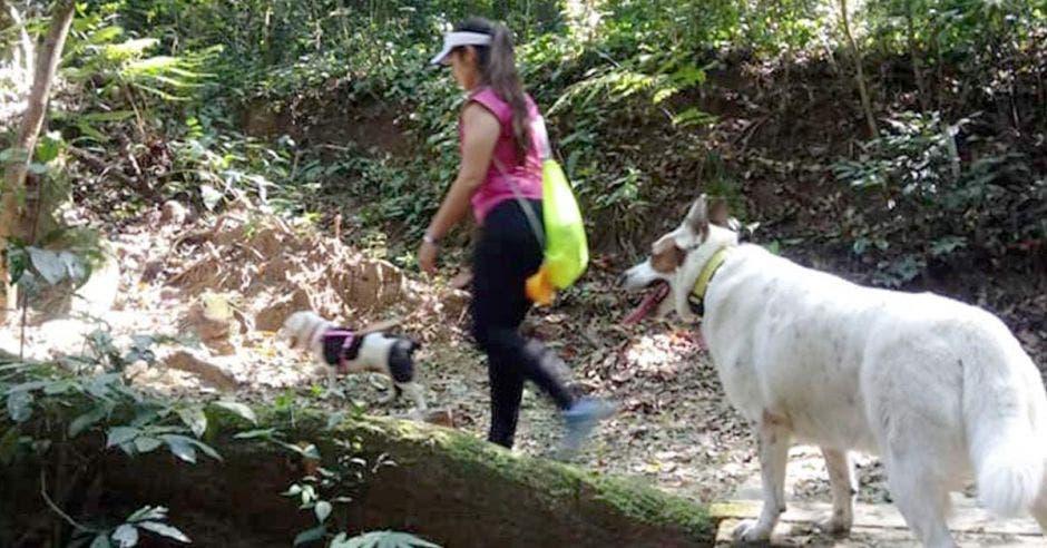 Desde julio del año pasado se realizan mensualmente estas caminatas y cada vez el grupo crece más. Cortesía Helena Ugalde/La República