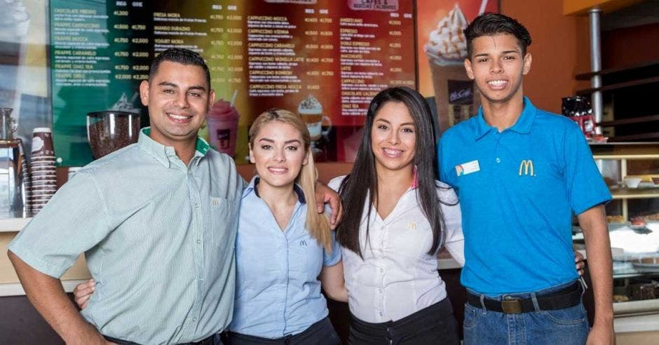 empleados de McDonald's