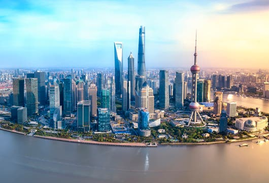 Shanghai, el centro económico de China.