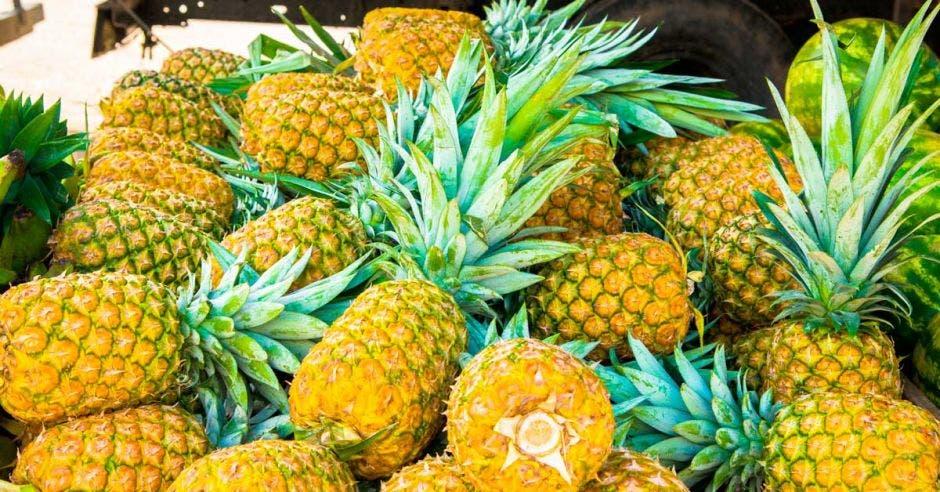 La piña dorada es sólo uno de los productos costarricenses que se está exportando a China.