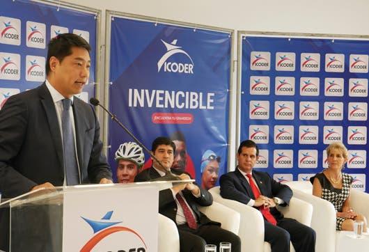 El Proyecto de Mejoramiento y Modernización fue dado a conocer por el Embajador Tang Heng; Carlos Alvarado, Presidente de la República, y Hernán Solano, Ministro de Deportes, el 6 de diciembre anterior.