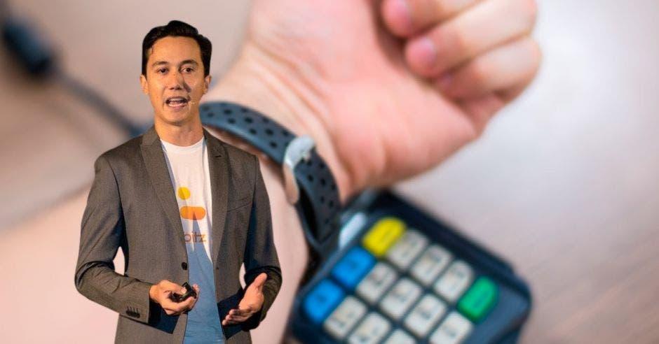 Andrés Elizondo, fundador de Bitz