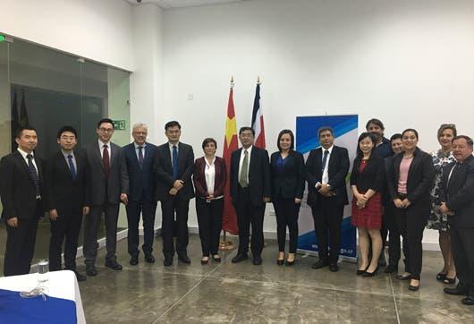 El Ministerio de Ciencia, Tecnología y Telecomunicaciones de Costa Rica y el Ministerio de Ciencia y Tecnología de China en San José el año pasado.