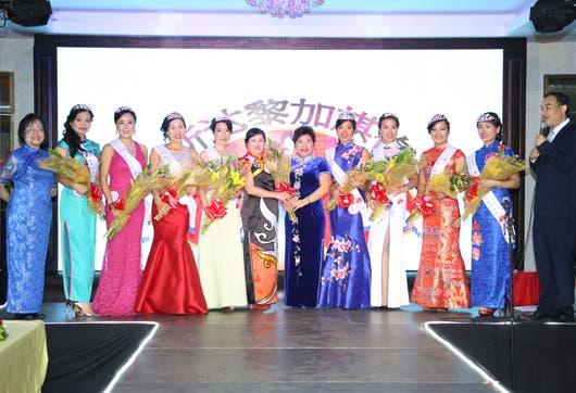 El concurso Qipao demuestra la hermosura de estos vestidos tradicionales.