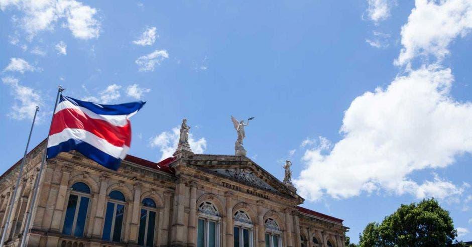 fachada de Teatro Nacional