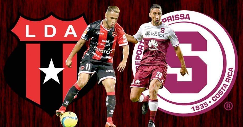 Alex López en Alajuelense y Mariano Torres en Saprissa serán los encargados de darle movilidad al equipo en medio campo. LDA-SAP/La República
