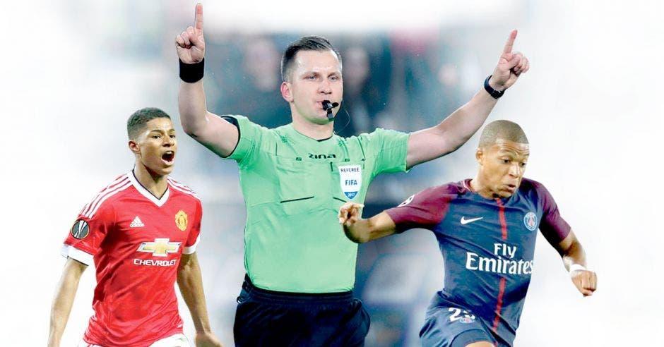 Marcus Rashford y Kylian Mbappé serán los referentes en ataque del Man U y PSG, respectivamente. Premier League/La República