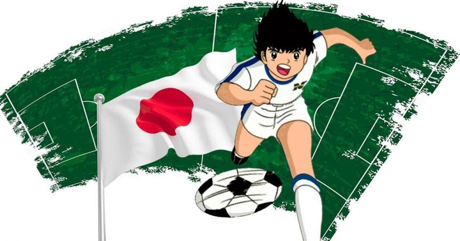Andrés Iniesta es la carta de presentación del fútbol japonés y junto al animado Oliver Atom, son símbolos de la calidad en el deporte. Shutterstock/La República
