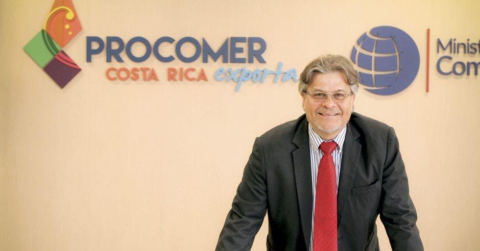 Marcial Chaverri, director de Crédito y Financiamiento de Procomer