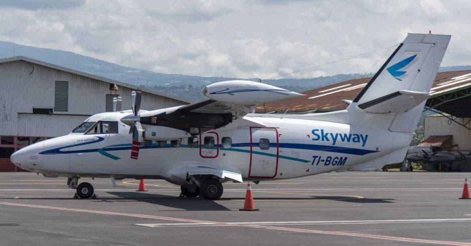 avión de Skyway