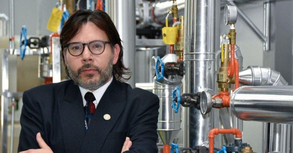 Óscar Monge, ingeniero del TEC