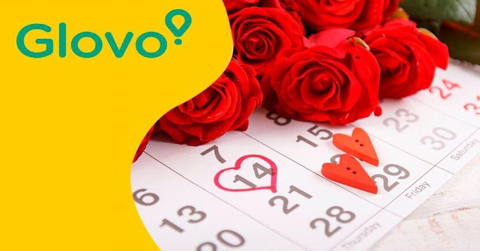 Glovo Día Enamorados