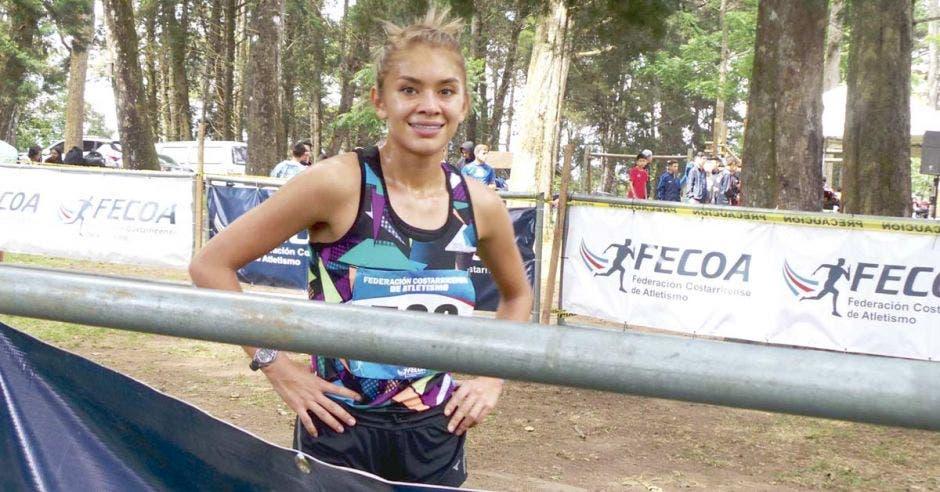 Noelia Vargas se proclamó campeona nacional de Campo Traviesa por dos kilómetros de ventaja. Facebook Noelia Vargas/La República