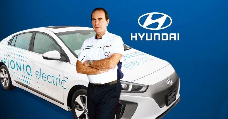 Erick Xirinachs, director regional comercial de Hyundai