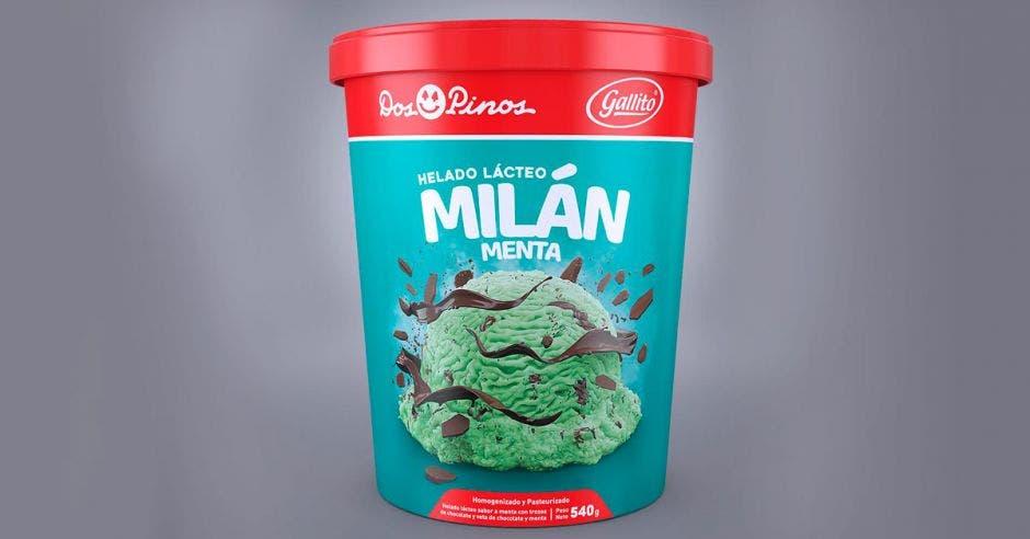 Helado de Milán de Menta es lo nuevo de Dos Pinos y Gallito para sus clientes.