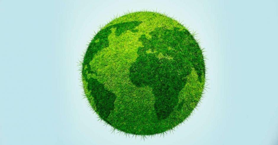 Un planeta verde