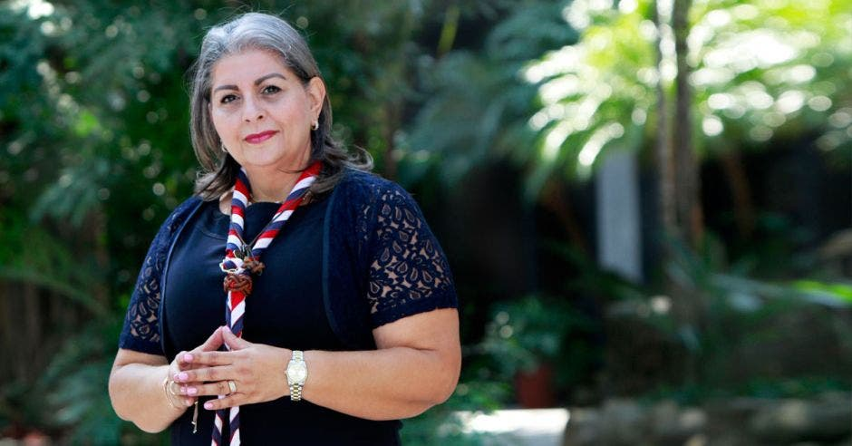 Ana Cristina Calderón, presidenta de la Asociación Guías y Scouts de Costa Rica