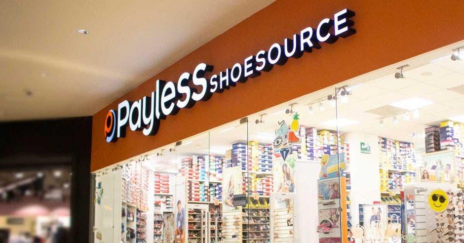 El escaparate de una tienda de Payles