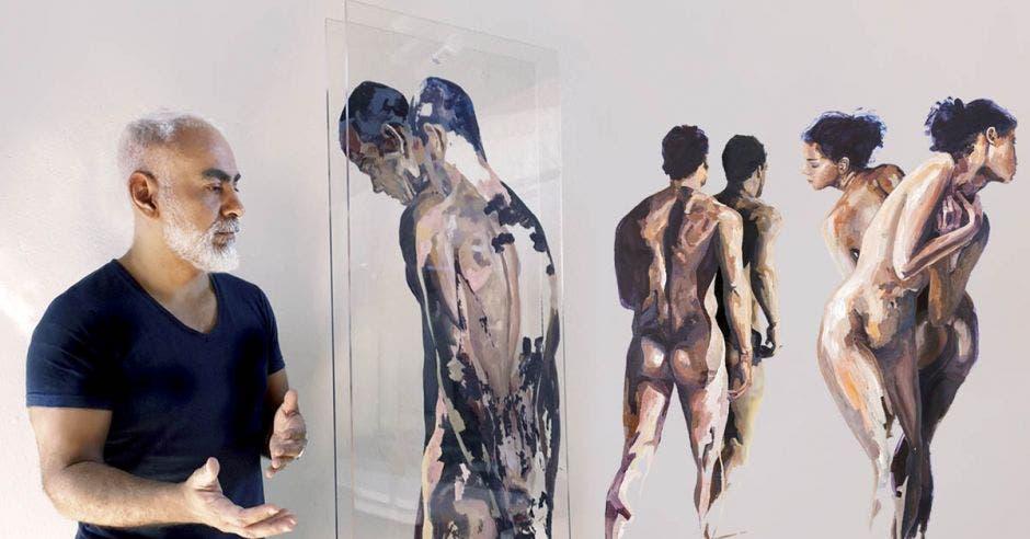 Osvaldo Sequeira pintura figura humana