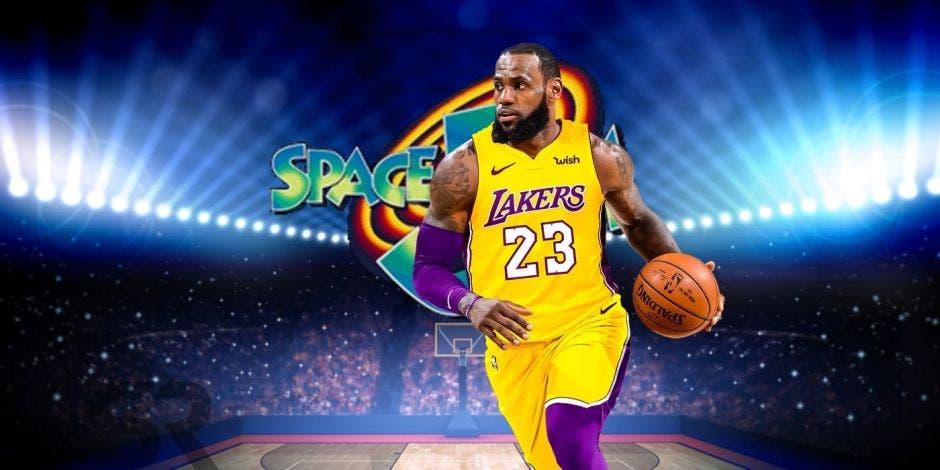 LeBron James, uno de los mejores jugadores en la actualidad de la NBA será el protagonista. Archivo/La República