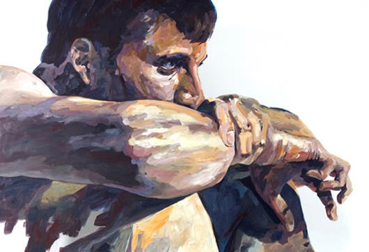 """El cuerpo evidencia las emociones y el pasar del tiempo"""", concluye el pintor Sequeira sobre la filosofía que fundamenta sus últimas obras."""