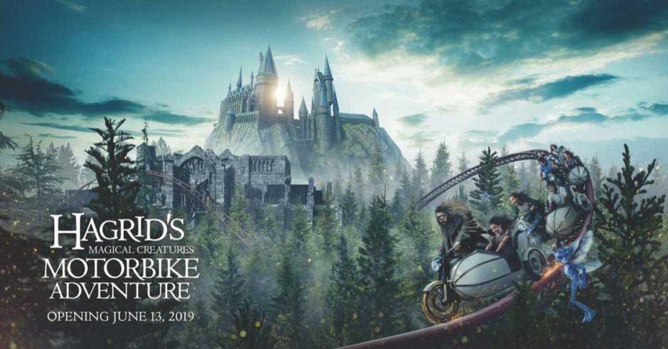 Montaña rusa de Hagrid