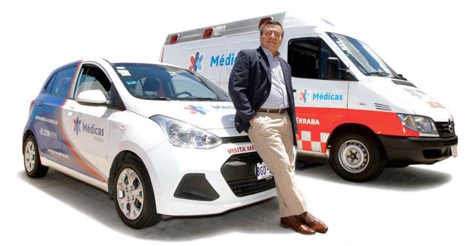 Carlos Monge, gerente general de Grupo Médicas y Emergencias Médicas.