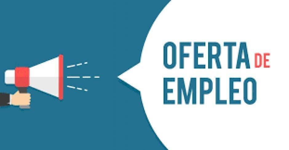 rótulo: oferta de empleo