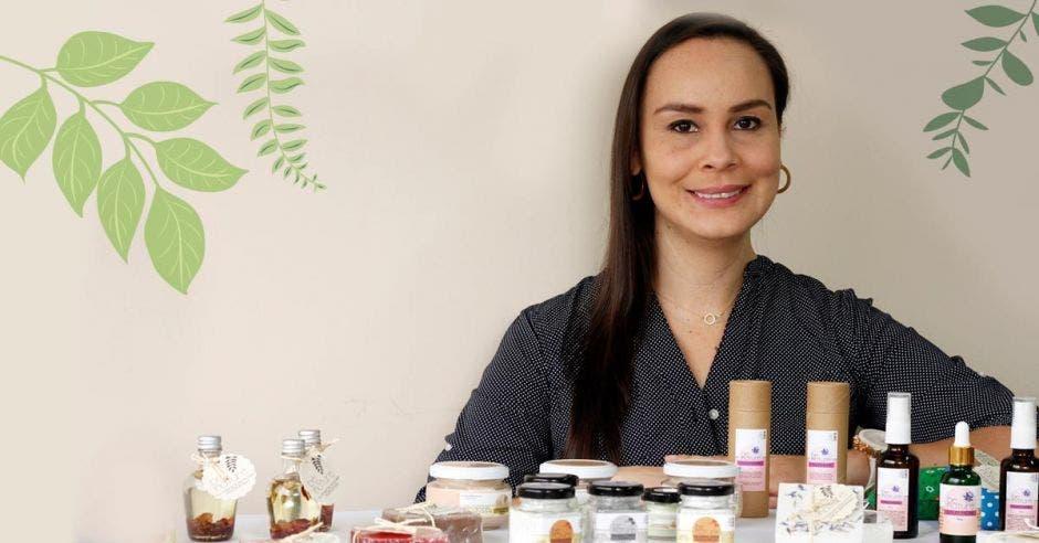 Diana Mora, creadora de Be Nature, asegura que pronto vendrá un periodo de reforzamiento de la imagen comercial de la empresa. Esteban Monge/La República