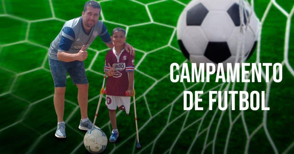 Motivar a los menores a practicar deporte es el principal objetivo del campamento. Archivo/La República