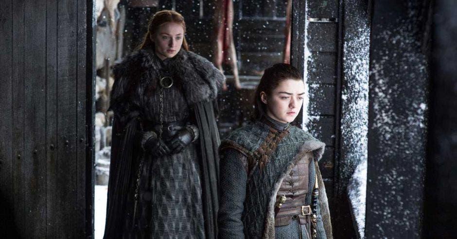 Sansa Stark y Arya Stark