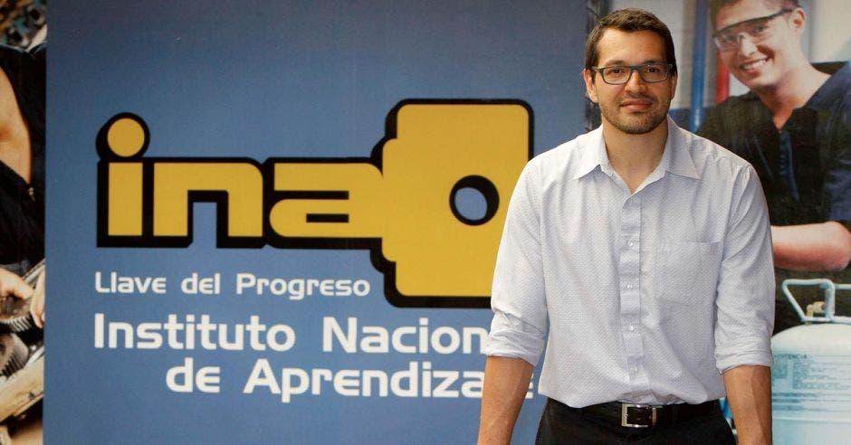 Andrés Valenciano, presidente ejecutivo del INA